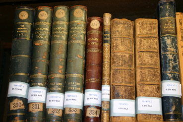 A Collection of Masonic Antiquarian Books